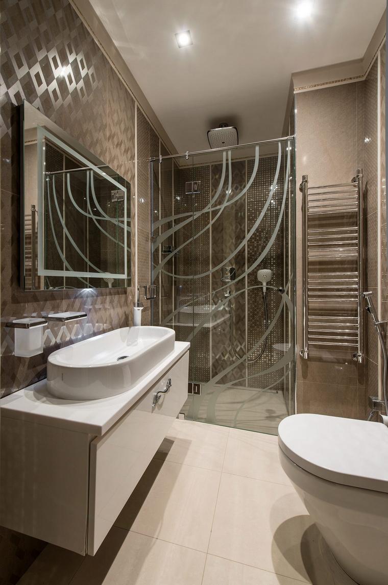 Фото № 68200 ванная  Загородный дом