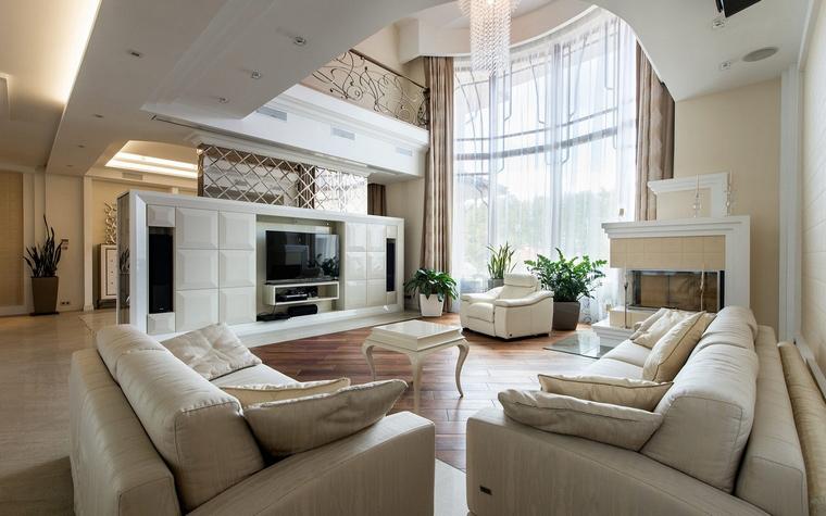 интерьер гостиной - фото № 68190
