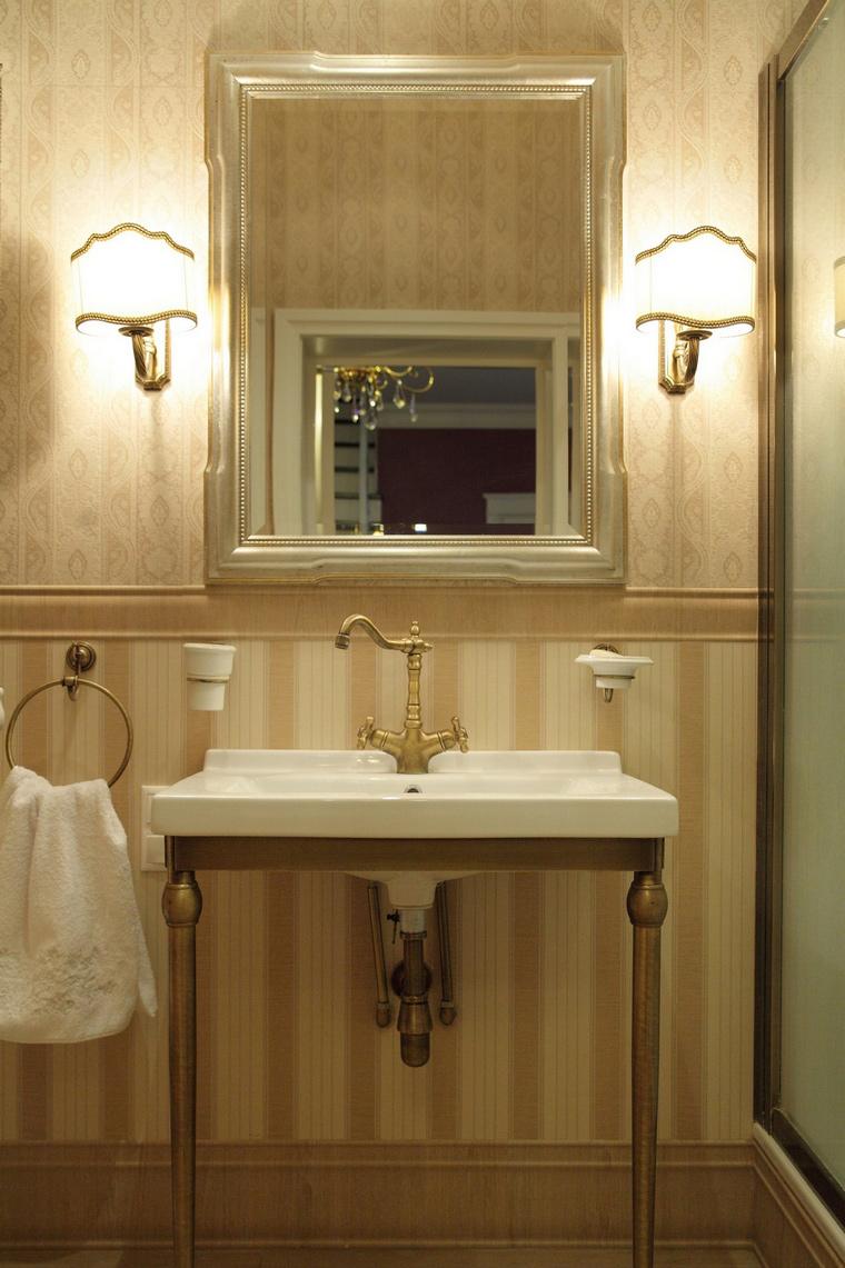 Фото № 68949 ванная  Загородный дом