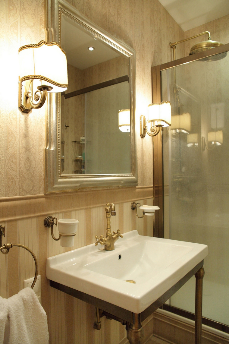 Фото № 68950 ванная  Загородный дом