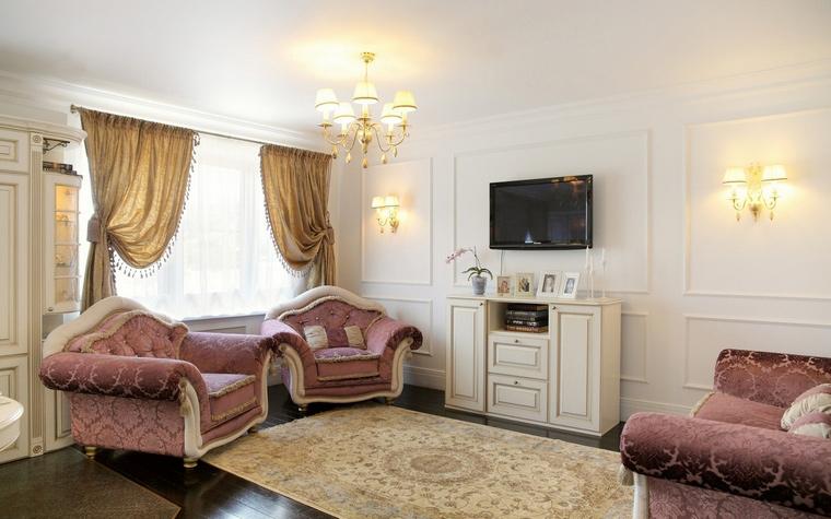 интерьер гостиной - фото № 68936