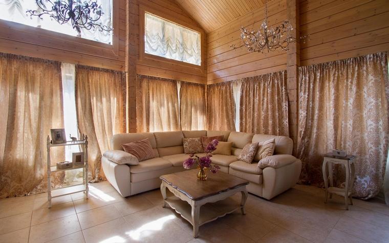 Фото № 69253 гостиная  Загородный дом