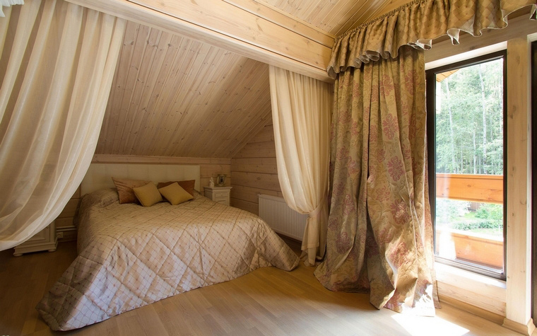Фото № 69256 спальня  Загородный дом