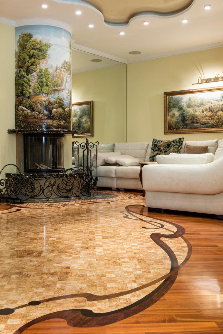 интерьер гостиной - фото № 69325