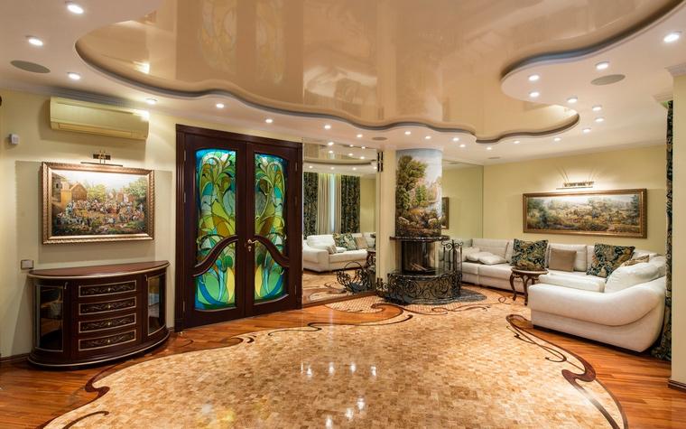 интерьер гостиной - фото № 69326