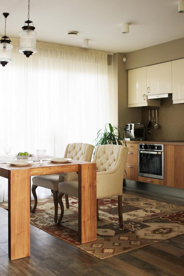 Фото № 69397 кухня  Загородный дом