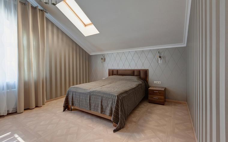 Загородный дом. спальня из проекта , фото №69475