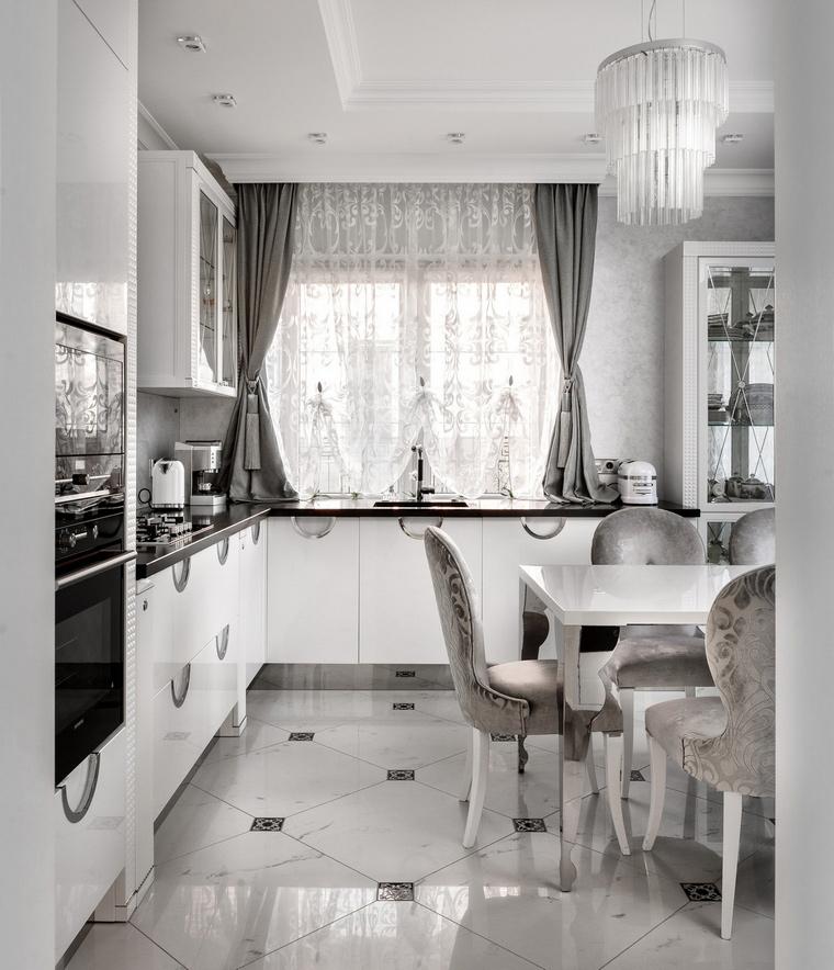 Фото № 69532 кухня  Загородный дом