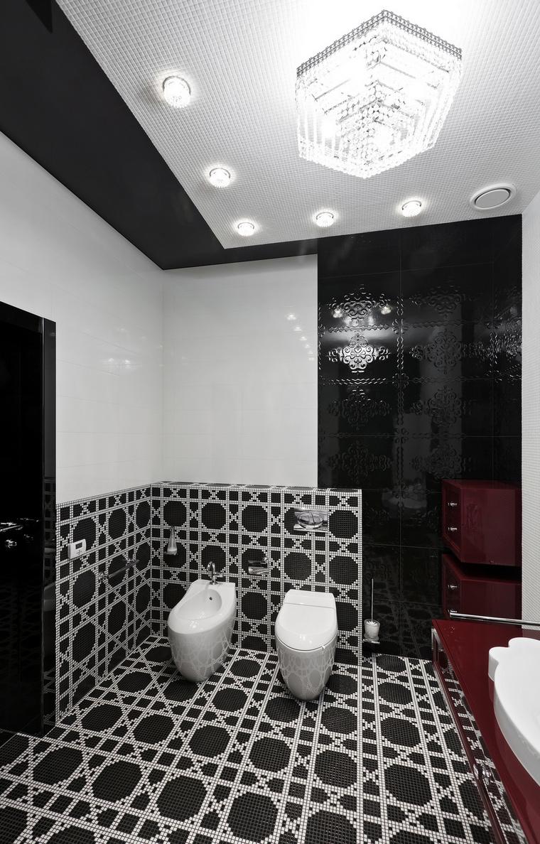 Фото № 69601 ванная  Загородный дом