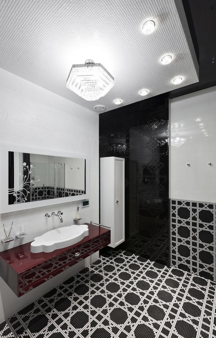 Фото № 69600 ванная  Загородный дом