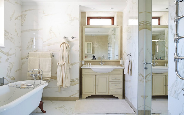 Фото № 70014 ванная  Загородный дом