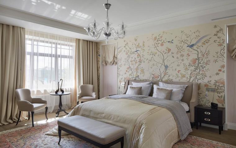 Фото № 70015 спальня  Загородный дом