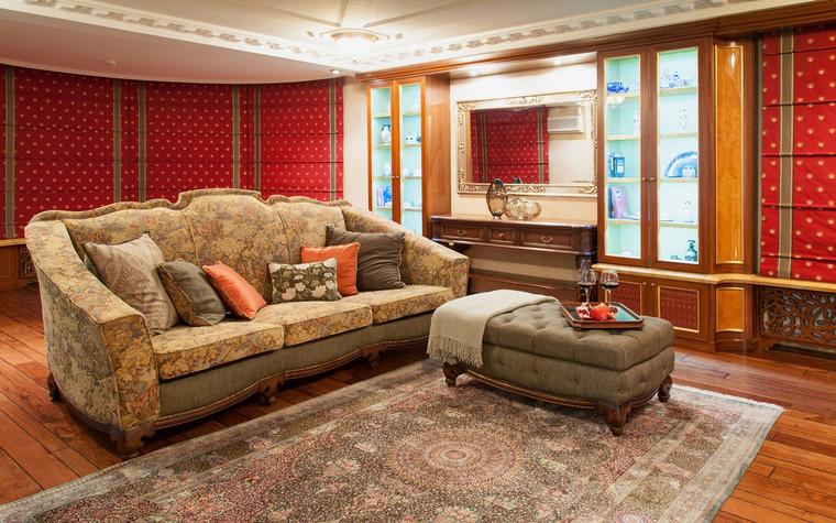 Фото № 70042 гостиная  Загородный дом