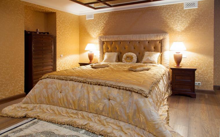 Фото № 70055 спальня  Загородный дом