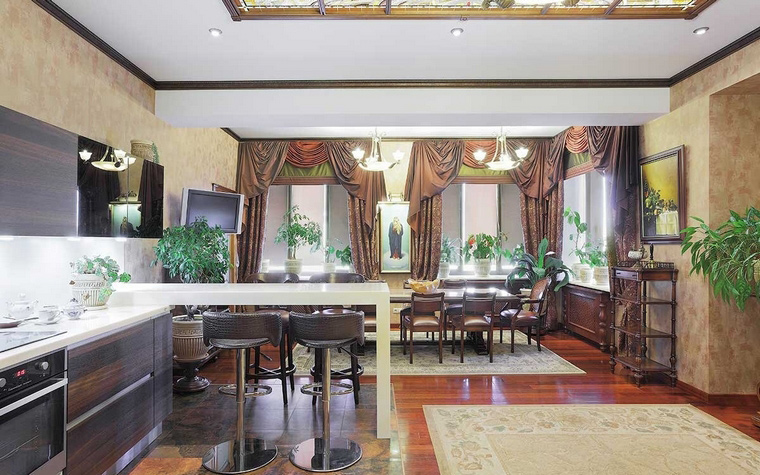 Фото № 70213 кухня  Загородный дом