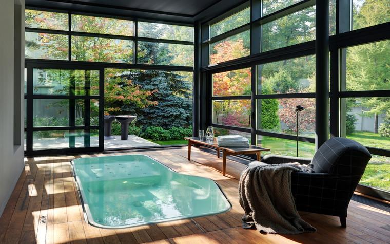 Фото № 70430 ванная  Загородный дом