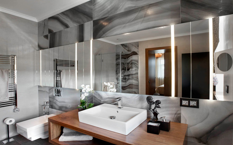 Загородный дом. ванная из проекта , фото №70539