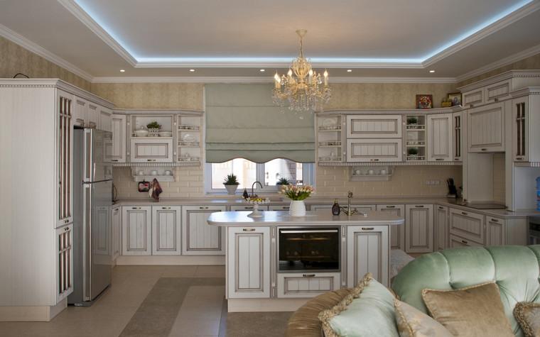 Фото № 70557 кухня  Загородный дом