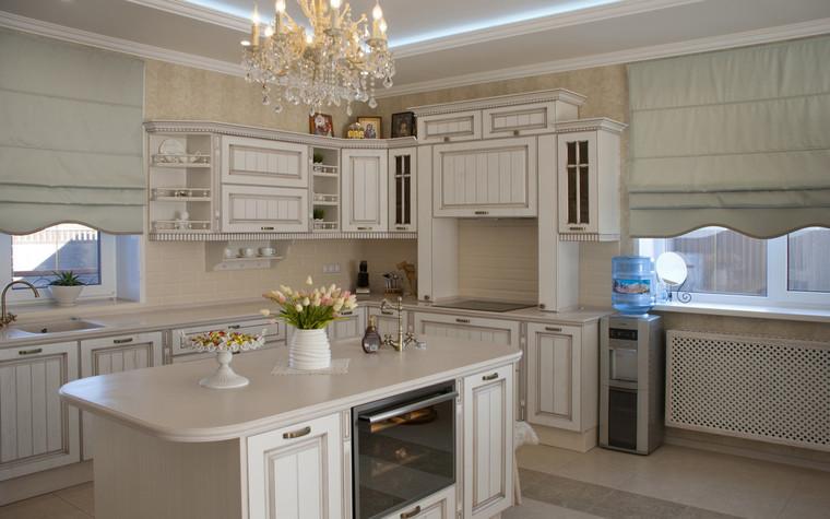 Фото № 70555 кухня  Загородный дом