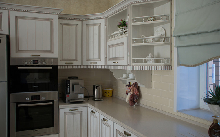 Фото № 70554 кухня  Загородный дом