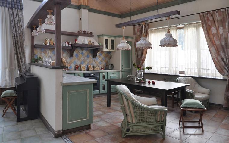 Загородный дом. кухня из проекта , фото №71555