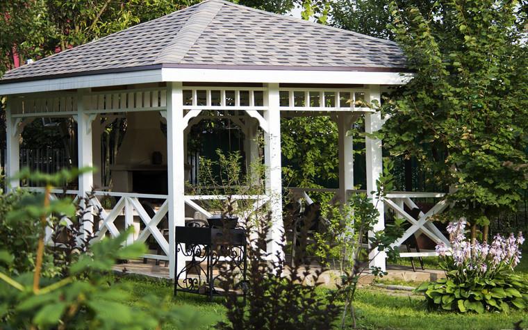 Загородный дом. беседка из проекта , фото №72019