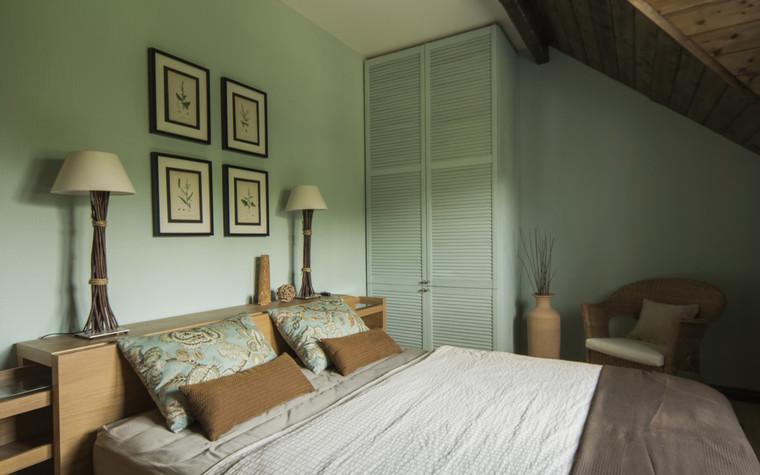 Загородный дом. спальня из проекта , фото №72013