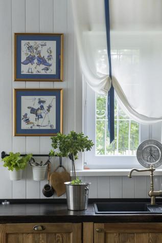 Загородный дом. кухня из проекта , фото №72011