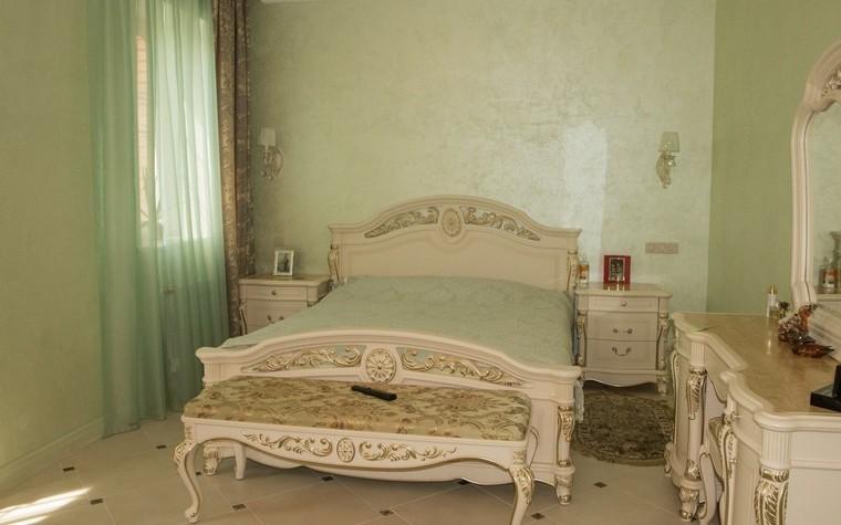 Загородный дом. спальня из проекта , фото №72030