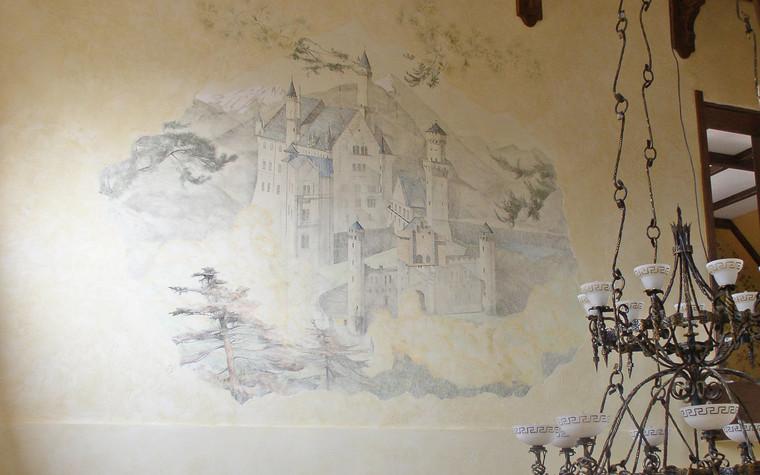 Роспись, живопись. роспись живопись из проекта Замок, фото №74639