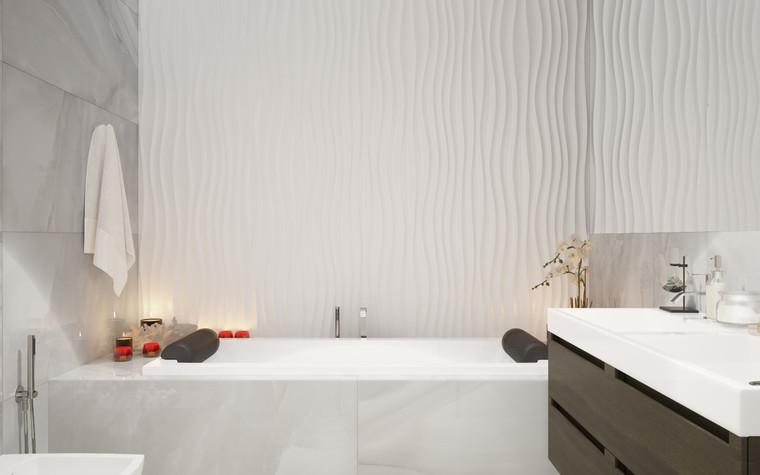 Квартира. ванная из проекта ДОМ , фото №75256