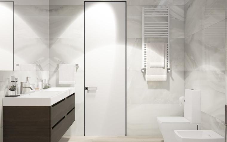 Квартира. ванная из проекта ДОМ , фото №75257