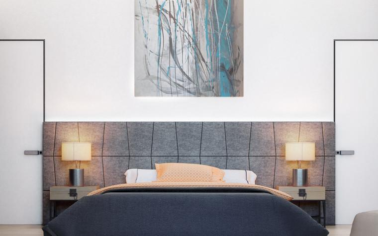 Квартира. спальня из проекта ДОМ , фото №75251