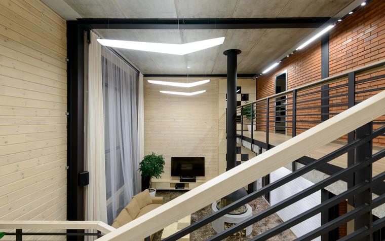 Загородный дом. гостиная из проекта Дом на Планете, фото №75324