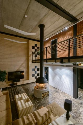 Загородный дом. гостиная из проекта Дом на Планете, фото №75325