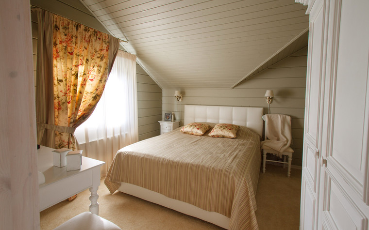 Загородный дом. спальня из проекта Домик в Райволо, фото №75347