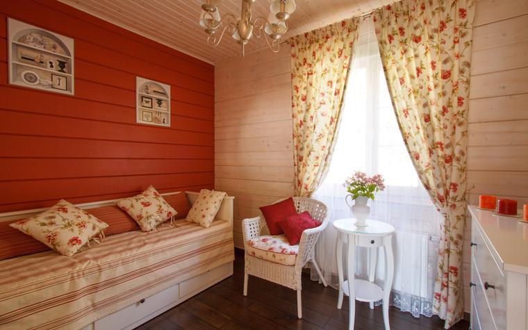 Загородный дом. спальня из проекта Домик в Райволо, фото №75350