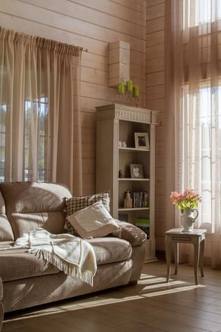 Загородный дом. спальня из проекта Домик в Райволо, фото №75351