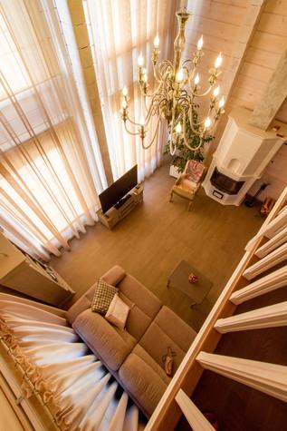 Загородный дом. гостиная из проекта Домик в Райволо, фото №75346