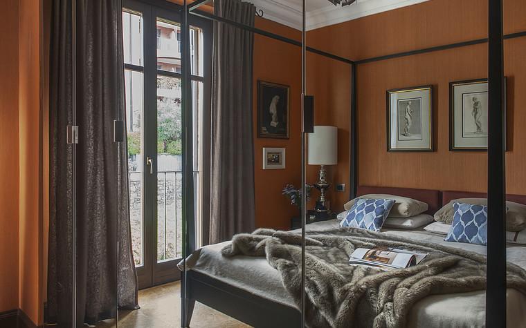 Загородный дом. спальня из проекта ОЗЕРО МАДЖОРЕ, фото №77685