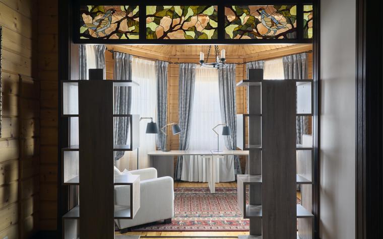 Загородный дом. кабинет из проекта Витенёво (Московская область), фото №77805