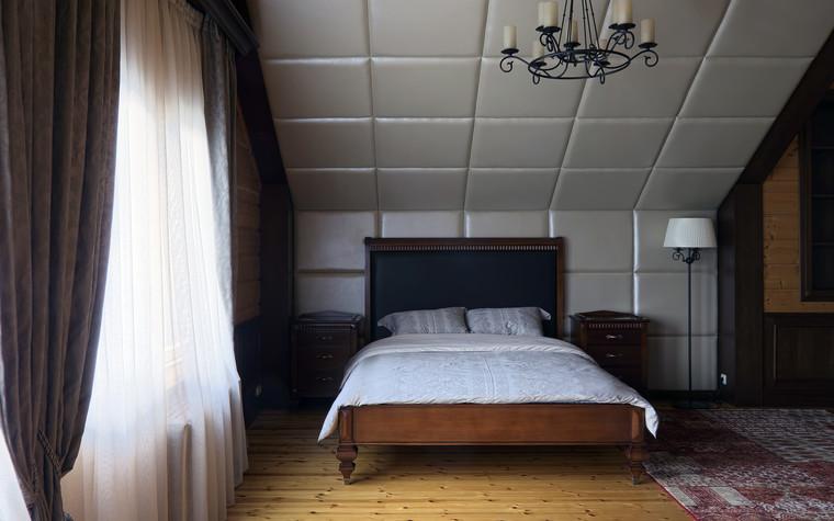 Загородный дом. спальня из проекта Витенёво (Московская область), фото №77806