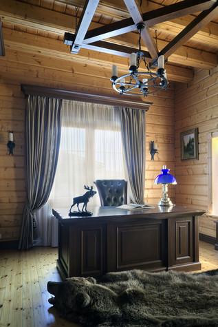 Загородный дом. кабинет из проекта Витенёво (Московская область), фото №77808