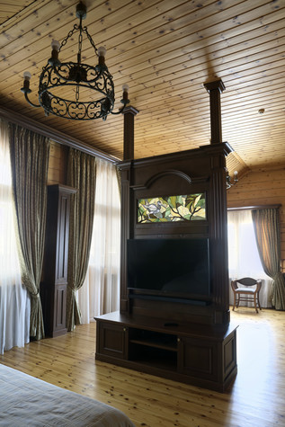 Загородный дом. спальня из проекта Витенёво (Московская область), фото №77807