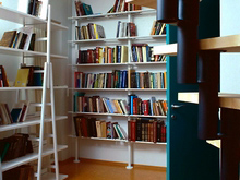 Фото кабинет библиотека Загородный дом