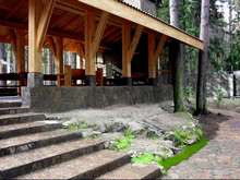 Загородный дом «», барбекю  . Фото № 511, автор Arch.625