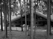 Фото гараж Загородный дом