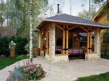 Загородный дом «», барбекю  . Фото № 760, автор АРХКОН