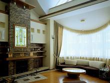 Загородный дом «», гостиная . Фото № 1357, автор Величкин Дмитрий (МАО), Голованов Николай (МАО)