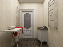 Загородный дом «Четверка», подсобные помещения . Фото № 25318, автор Домострой